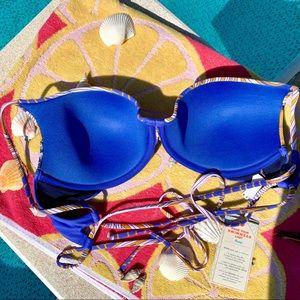 Maaji Swim - Maaji Floral Hidden Lagoon Underwire Bikini Top XL